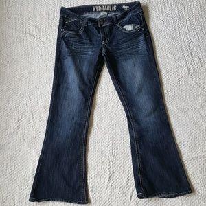 Hydraulic Metro Flare Jeans 15/16 S
